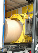 Kağıt Bobin Taşıma Forklift Ataşmanı